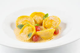 Crab and Lobster Tortelli