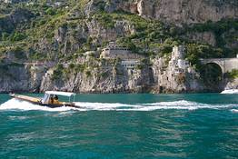Excursions by sea on the Amalfi Coast