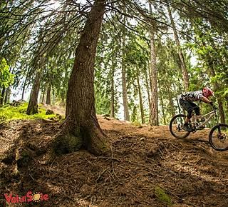 Downhill and Enduro bike Hotel