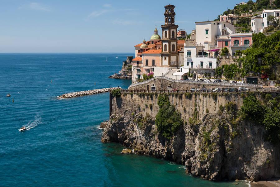 Visiting Amalfi from Sorrento
