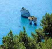 Puglia's sunny mountain Puglia