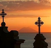 Calabria, sea, and sacrality