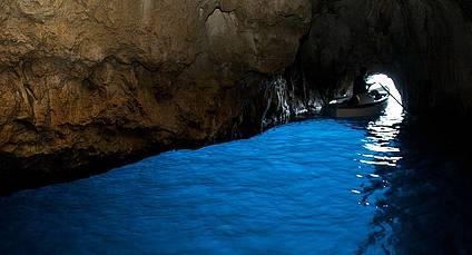 Grotta Azzurra - The Blue Grotto Capri