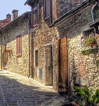 Locanda dell'Amorosa - Itiner�rio: Wandering around L'Amorosa