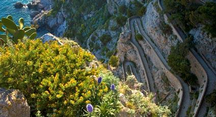 L'isola di Capri, luoghi e natura da ammirare