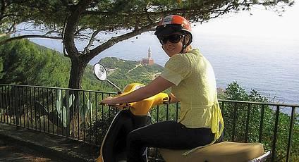 Capri - L'isola di Capri in scooter