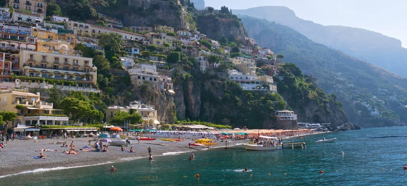Beaches of Positano