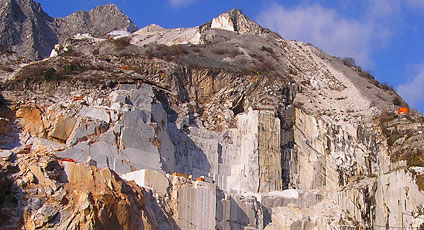 Visitare cave di marmo massa carrara