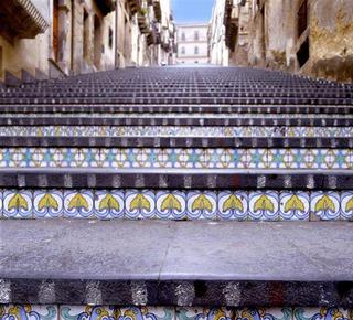 Tfe famous Caltagirone pottery Hotel
