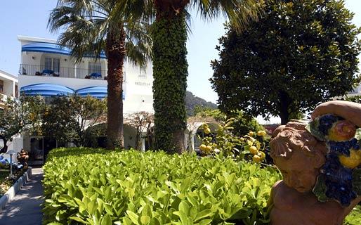 La Pazziella Hotel 4 estrelas Capri