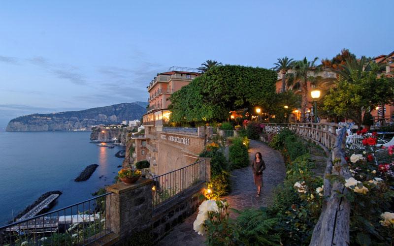 Grand Hotel Ambasciatori Sorrento Na Italy