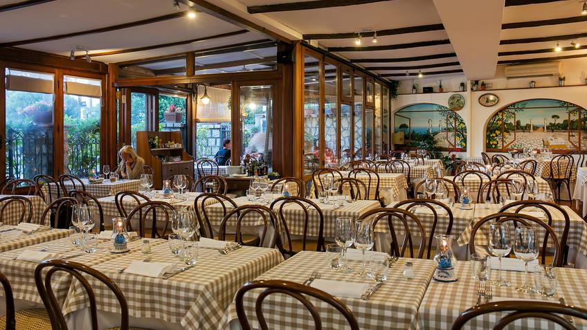 Le Arcate Restaurantes Anacapri