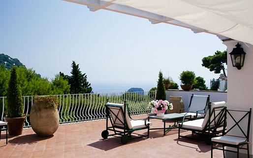 Villa La Conchiglia Case Affitto Capri