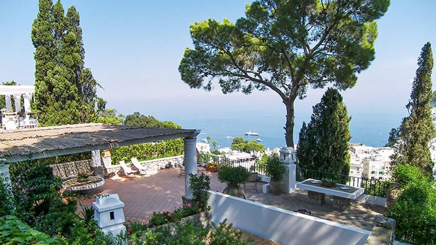 Villa laura capri book online for Villas in capri