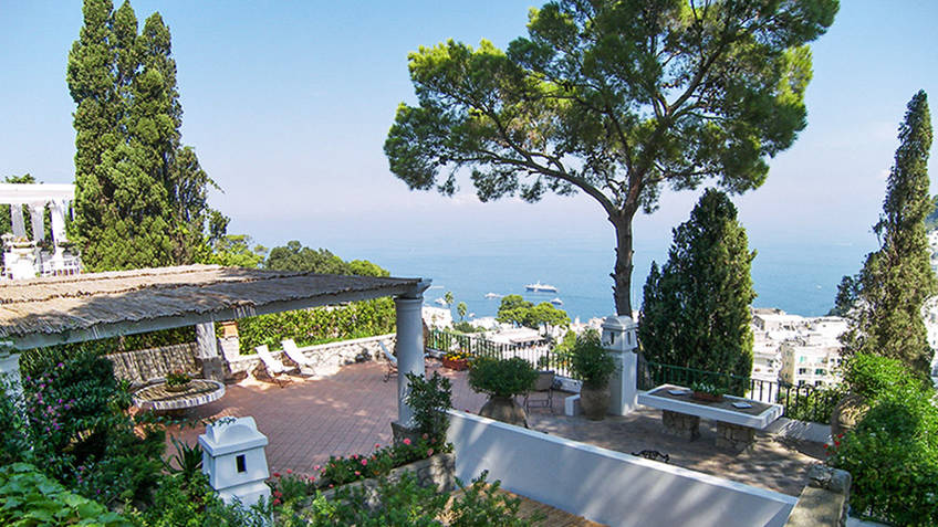 Villa Laura Casas de Luxo Capri