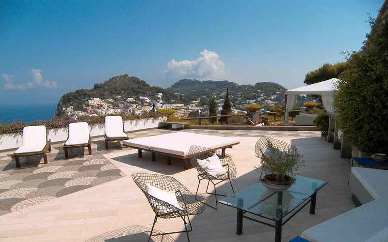 Villa giuliana villa con vista panoramica e piscina capri italy - Bagno italia giuliana ...