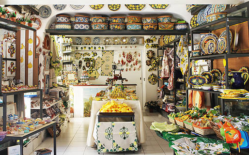 L'Oasi Ceramiche Local products Anacapri