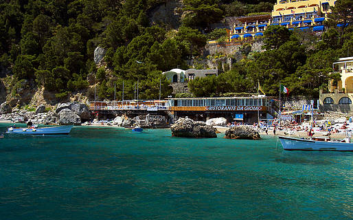 da Gioia Bathing Establishments Capri