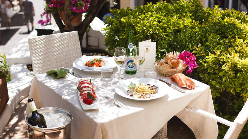 Relais La Palma Restaurants Capri