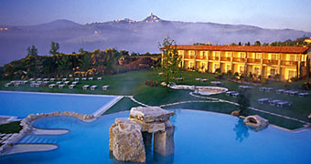 Wellness hotel collection di italytraveller - Adler bagno vignoni ...