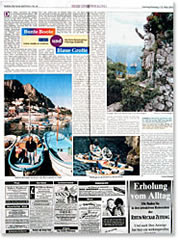 Rhein - Neckar - Zeitung (Germany) - Multicolor boats and Blue Grotto