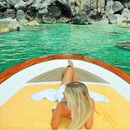 """Capri Relax Boats - Discover Capri by gozzo boat """"Fratelli Aprea 7.80"""""""