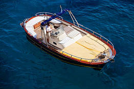 Blue Sea Capri - Capri + Positano Full Day Luxe Speedboat or Gozzo Tour