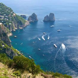 Bespoke Capri - The Blue Island on a Private Boat